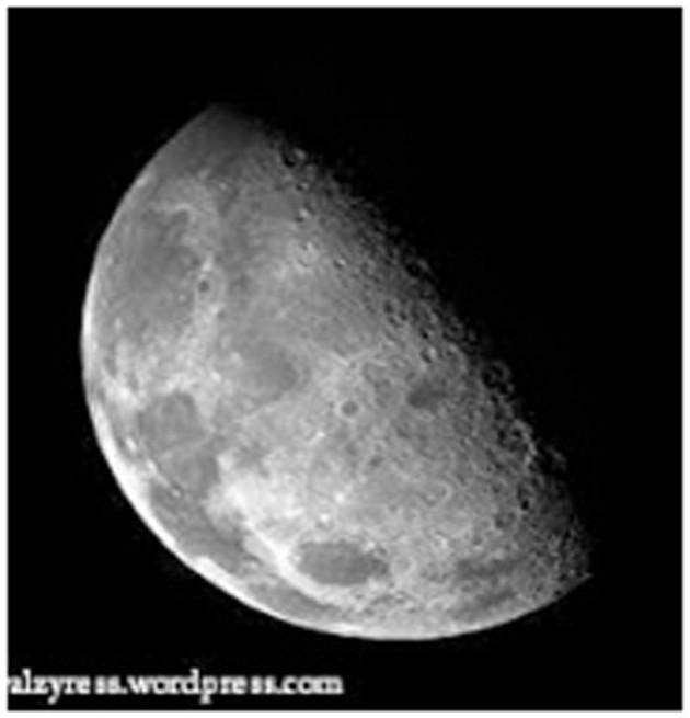 1 hari di bulan(satelit alam bumi) sama dengan lamanya 1 bulan di bumi